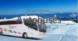 Alquiler autobuses con conductor en Madrid