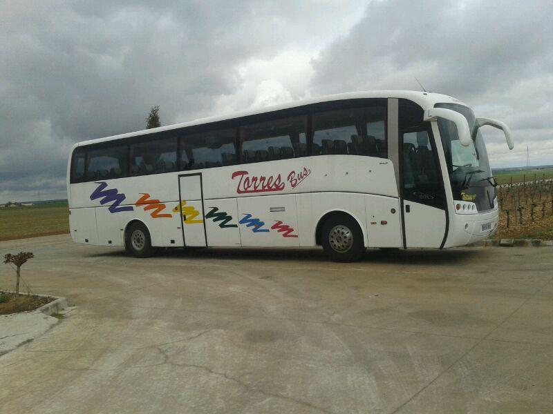 Transporte de alquiler autocares Torres Bus