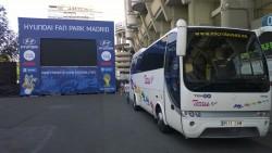 Alquiler de autobuses con conductor Madrid y Toledo