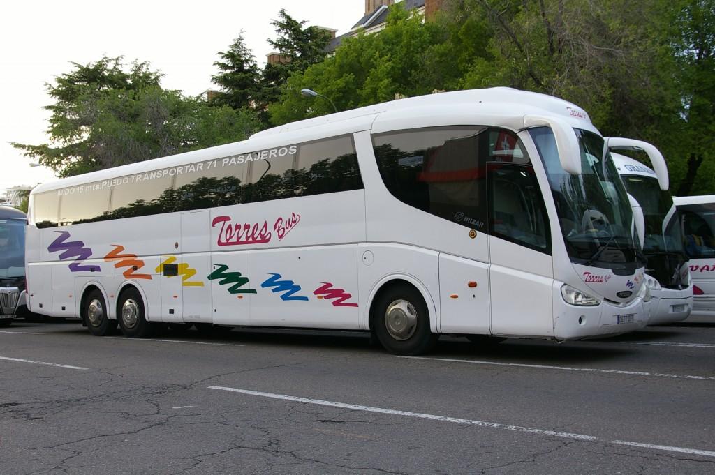 alquiler de autobuses en madrid baratos