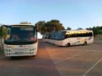 Autobuses en alquiler
