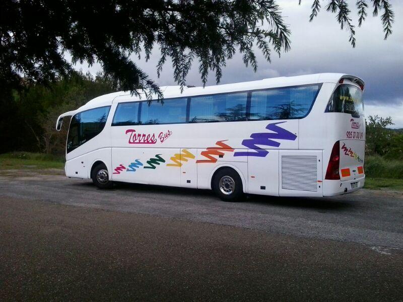 Alquiler de autocares y autobuses en Madrid