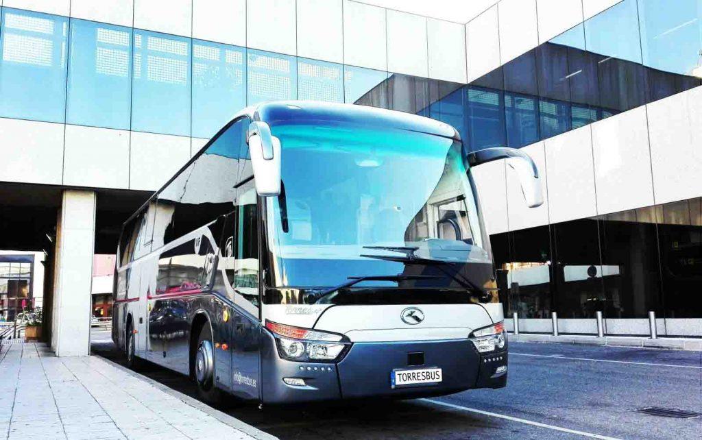 alquiler de autobuses para bodas en madrid y toledo