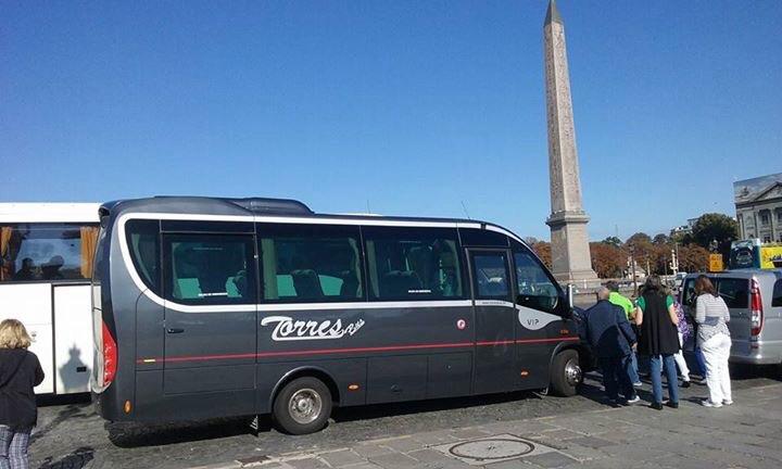 Alquilar bus precio en Madrid
