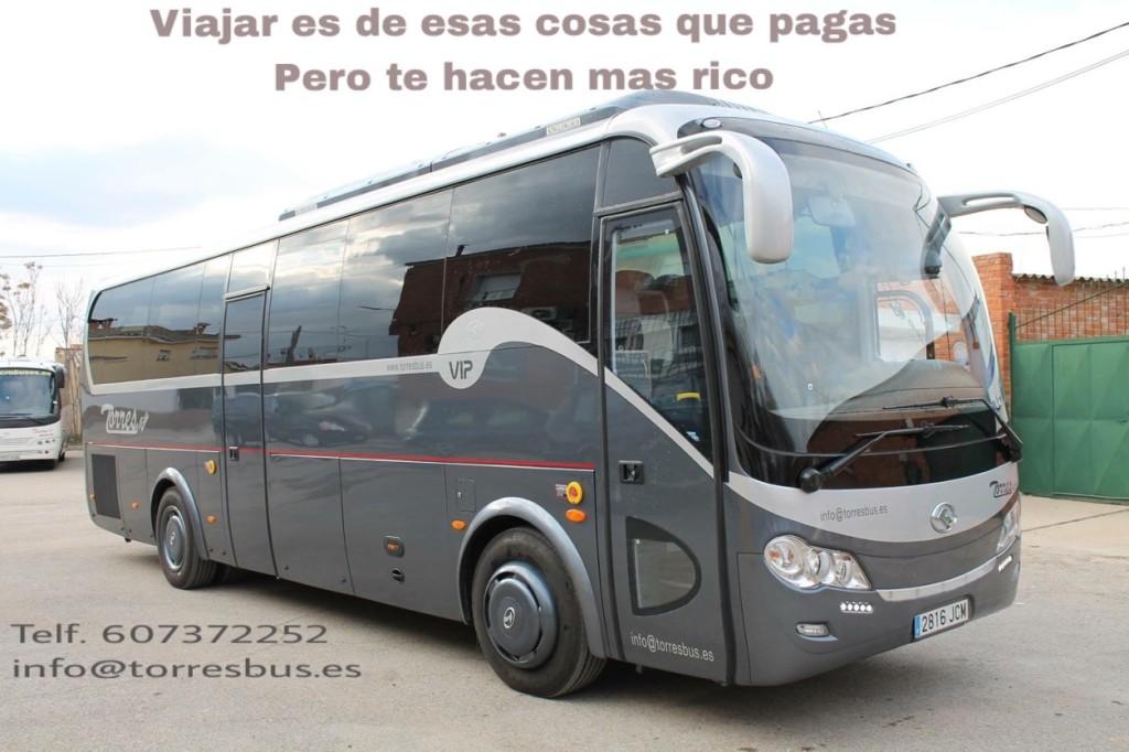 Alquiler de autobuses precios en Madrid